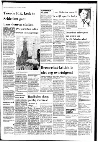 Rotterdamsch Nieuwsblad / Schiedamsche Courant / Rotterdams Dagblad / Waterweg / Algemeen Dagblad 1968-05-07