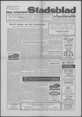 Het Nieuwe Stadsblad 1961-08-16