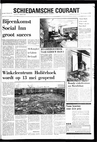 Rotterdamsch Nieuwsblad / Schiedamsche Courant / Rotterdams Dagblad / Waterweg / Algemeen Dagblad 1970-02-21
