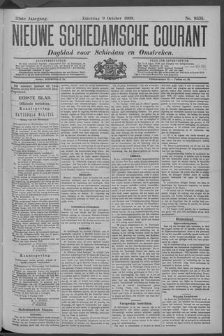 Nieuwe Schiedamsche Courant 1909-10-09