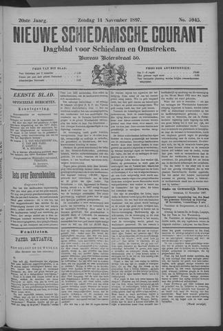 Nieuwe Schiedamsche Courant 1897-11-14