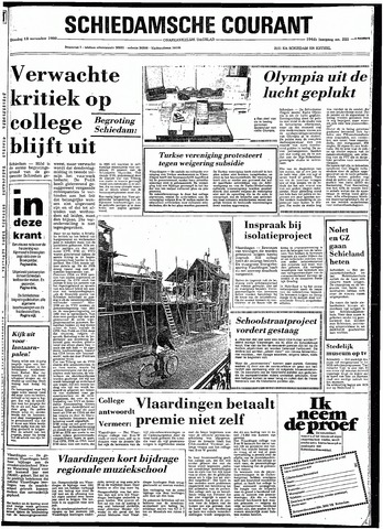 Rotterdamsch Nieuwsblad / Schiedamsche Courant / Rotterdams Dagblad / Waterweg / Algemeen Dagblad 1980-11-18