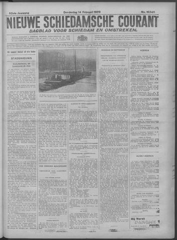 Nieuwe Schiedamsche Courant 1929-02-14