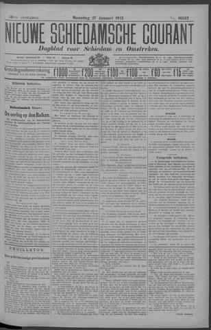 Nieuwe Schiedamsche Courant 1913-01-27