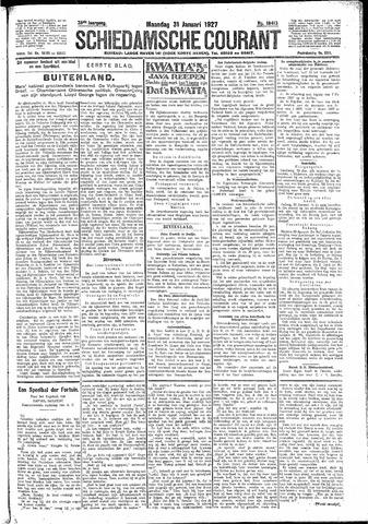 Schiedamsche Courant 1927-01-31