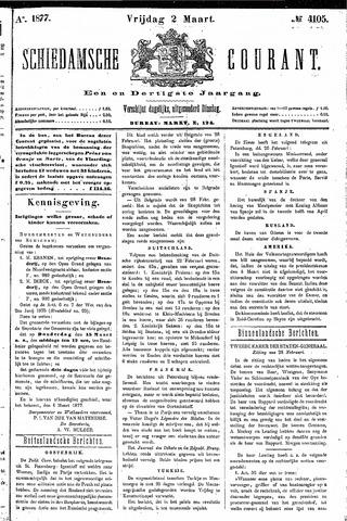 Schiedamsche Courant 1877-03-02