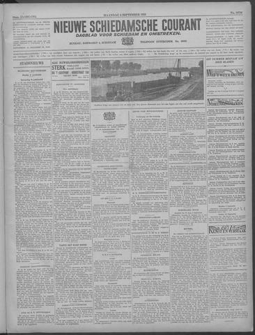 Nieuwe Schiedamsche Courant 1933-09-04