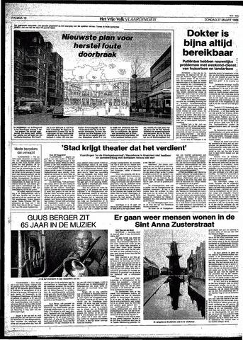 Het Vrije volk 1988-03-27