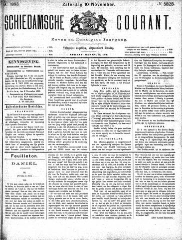 Schiedamsche Courant 1883-11-10
