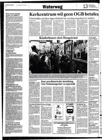 Rotterdamsch Nieuwsblad / Schiedamsche Courant / Rotterdams Dagblad / Waterweg / Algemeen Dagblad 1991-12-19