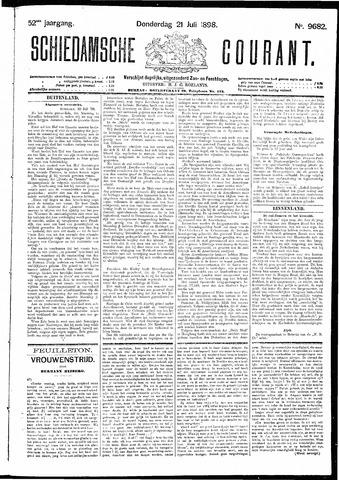 Schiedamsche Courant 1898-07-21