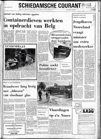 Rotterdamsch Nieuwsblad / Schiedamsche Courant / Rotterdams Dagblad / Waterweg / Algemeen Dagblad 1974-08-09