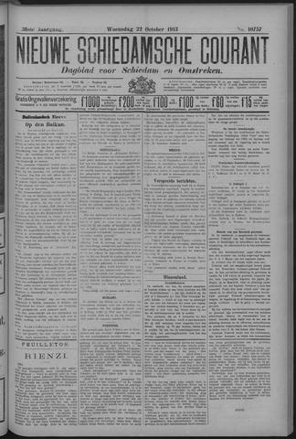 Nieuwe Schiedamsche Courant 1913-10-22