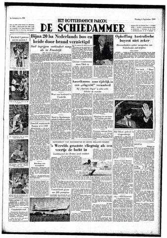 Rotterdamsch Parool / De Schiedammer 1949-09-06
