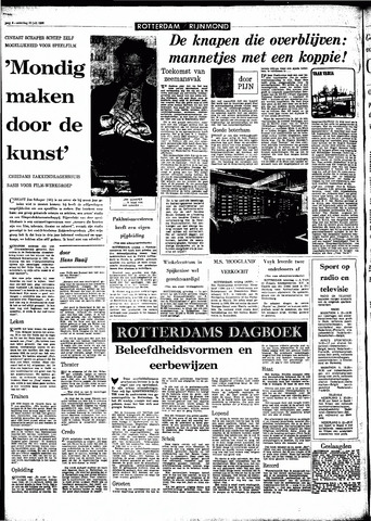 Rotterdamsch Parool / De Schiedammer 1966-07-30