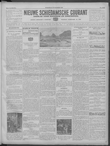 Nieuwe Schiedamsche Courant 1933-10-25