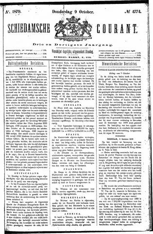 Schiedamsche Courant 1879-10-09