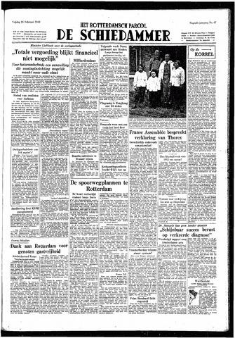 Rotterdamsch Parool / De Schiedammer 1949-02-25