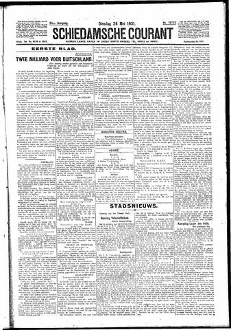 Schiedamsche Courant 1931-05-26