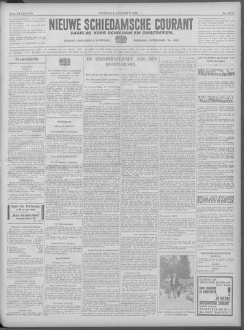 Nieuwe Schiedamsche Courant 1933-08-08