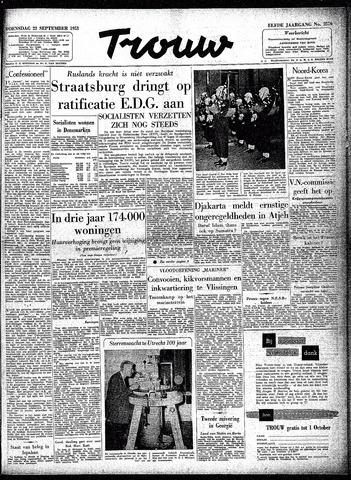 Trouw / De Rotterdammer 1953-09-23