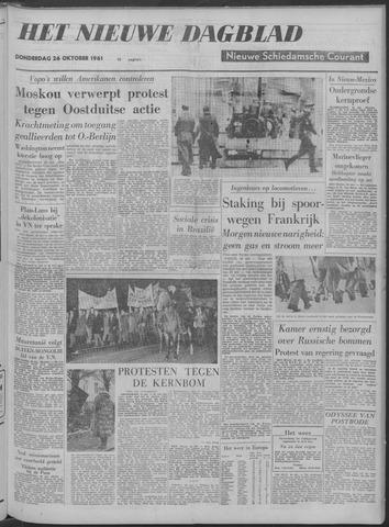 Nieuwe Schiedamsche Courant 1961-10-26