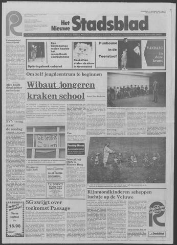 Het Nieuwe Stadsblad 1981-10-21