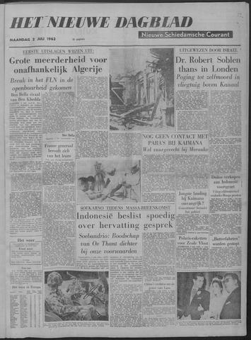 Nieuwe Schiedamsche Courant 1962-07-02