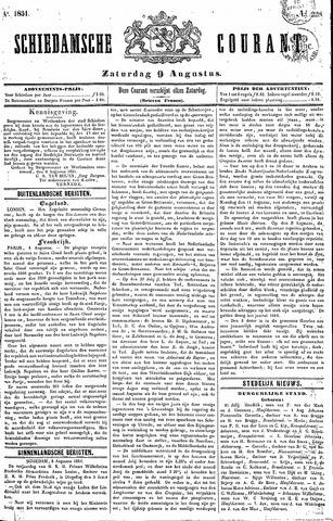 Schiedamsche Courant 1851-08-09