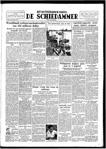 Rotterdamsch Parool / De Schiedammer 1947-08-08