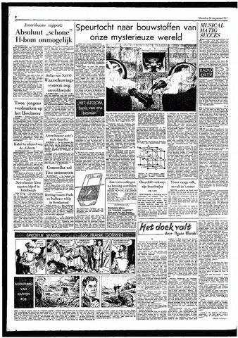 Rotterdamsch Parool / De Schiedammer 1957-08-26