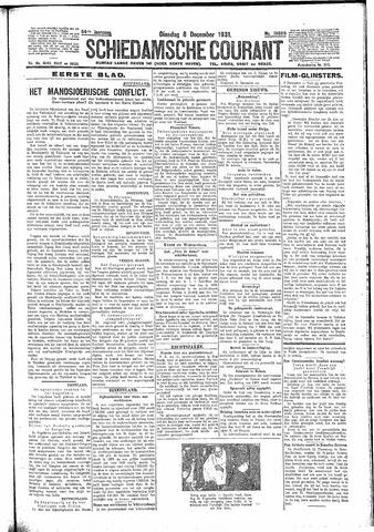 Schiedamsche Courant 1931-12-08