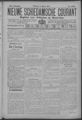 Nieuwe Schiedamsche Courant 1918-03-12