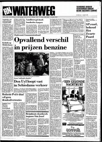 Rotterdamsch Nieuwsblad / Schiedamsche Courant / Rotterdams Dagblad / Waterweg / Algemeen Dagblad 1987-03-11