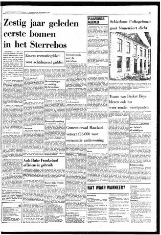 Rotterdamsch Nieuwsblad / Schiedamsche Courant / Rotterdams Dagblad / Waterweg / Algemeen Dagblad 1968-11-06