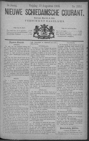 Nieuwe Schiedamsche Courant 1886-08-13