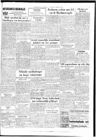 Rotterdamsch Nieuwsblad / Schiedamsche Courant / Rotterdams Dagblad / Waterweg / Algemeen Dagblad 1966-02-07