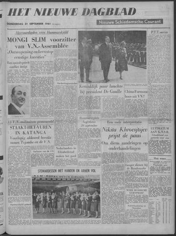 Nieuwe Schiedamsche Courant 1961-09-21