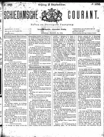 Schiedamsche Courant 1883-09-21