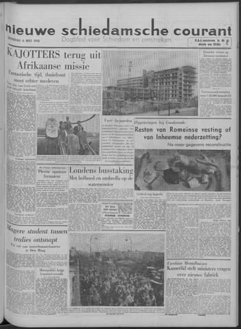 Nieuwe Schiedamsche Courant 1958-05-06
