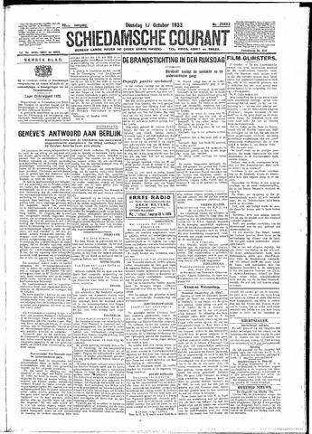 Schiedamsche Courant 1933-10-17