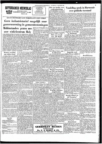 Rotterdamsch Nieuwsblad / Schiedamsche Courant / Rotterdams Dagblad / Waterweg / Algemeen Dagblad 1964-10-31