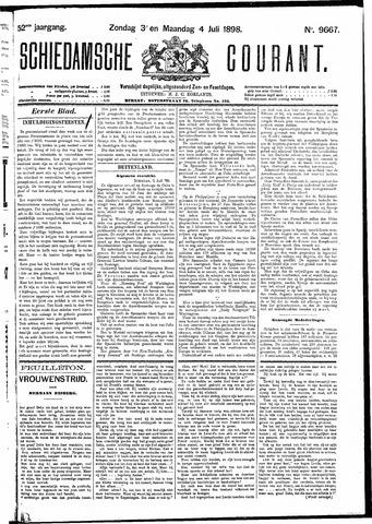 Schiedamsche Courant 1898-07-04