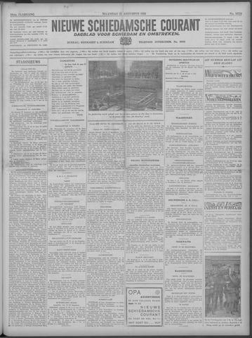 Nieuwe Schiedamsche Courant 1933-08-21