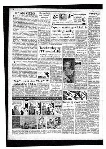 Rotterdamsch Parool / De Schiedammer 1957-01-03
