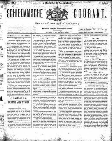 Schiedamsche Courant 1883-08-11