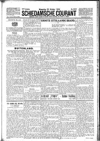 Schiedamsche Courant 1929-10-23