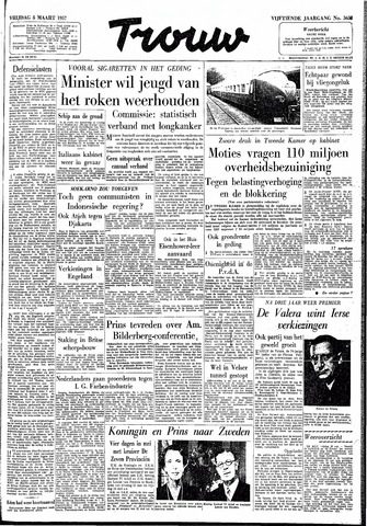 Trouw / De Rotterdammer 1957-03-08