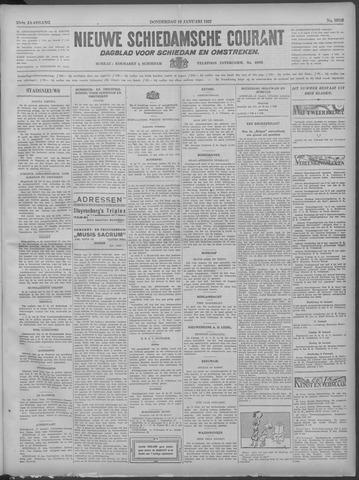Nieuwe Schiedamsche Courant 1933-01-19