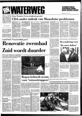 Rotterdamsch Nieuwsblad / Schiedamsche Courant / Rotterdams Dagblad / Waterweg / Algemeen Dagblad 1985-06-24